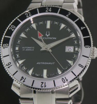 Accutron gentlemen wrist watches astronaut gmt limited edition 28b088 for Astronaut watches