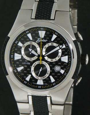 Belair Men Sport Wrist Watches Titanium Carbon Fiber A9913b