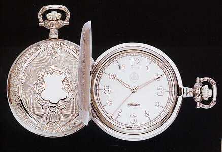 Dolan Bullock Pocket Watches Executive Silver Pocket