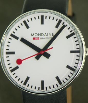 mondaine railways watch wrist watches giant size