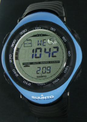 Suunto Vector Core Wrist Watches Vector Blue Case