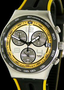 Swatch Irony Wrist Watches Irony Chrono Laser Light Ycs503
