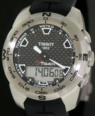 Tissot T Touch. Tissot T-Touch wrist watches:
