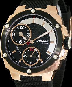 Alpina Extreme Regulator Wrist Watches Rose And Black Regulator AL - Alpina watches price
