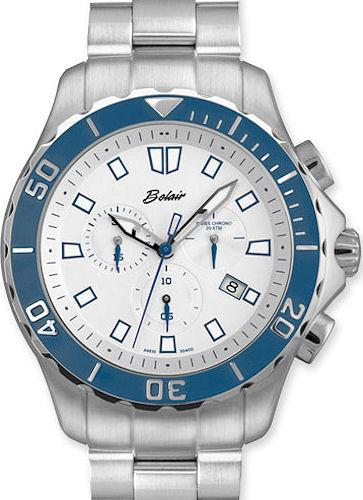 Belair Watches A9810W/B-WHT