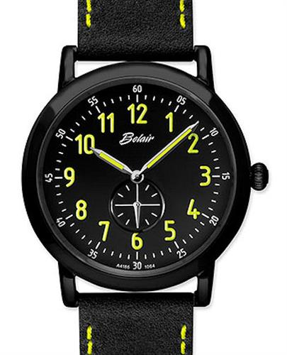Belair Watches A4186BK/S-BLK