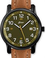 men sport watches collection by belair from authorized belair dealer belair watches a9340bk s grn tan