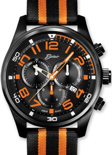 belair men sport wrist watches sport black orange chronograph belair men sport wrist watches sport black orange chronograph a9835bk ora