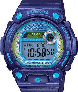Casio Baby-G wrist watches - Blx Tide Graph Blue Purple BLX100-2CR. eeeae013ff35