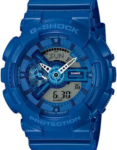 casio g shock wrist watches g shock ana digi all blue. Black Bedroom Furniture Sets. Home Design Ideas