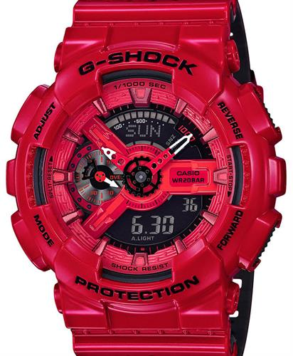 casio g shock wrist watches g shock ana digi red. Black Bedroom Furniture Sets. Home Design Ideas