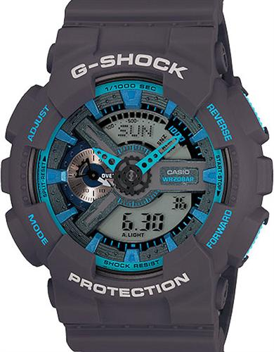 casio g shock wrist watches g shock ana digi black blue. Black Bedroom Furniture Sets. Home Design Ideas