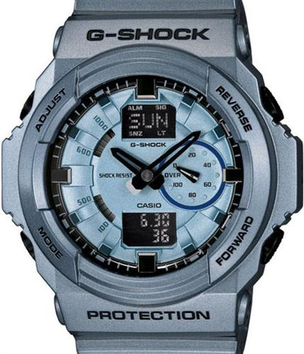 casio g shock wrist watches g shock gray ana digital. Black Bedroom Furniture Sets. Home Design Ideas