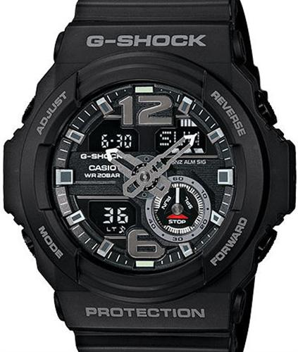 casio g shock wrist watches g shock ana digi black ga310 1a. Black Bedroom Furniture Sets. Home Design Ideas