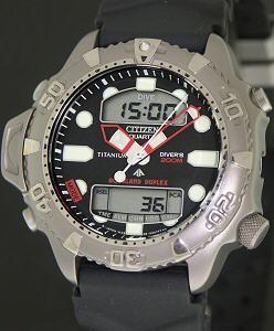 Citizen Aqualand Wrist Watches Titanium Aqualand Duplex
