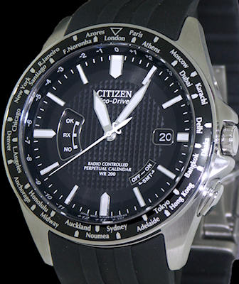 citizen eco drive radio controlled watch manual