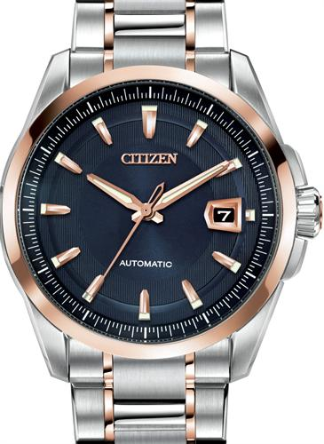 citizen signature wrist watches signature automatic blue