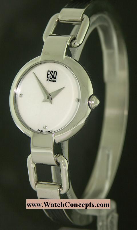 Esq By Movado Ladies wrist watches: Nola Bangle Style 07101086