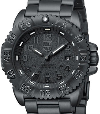 Luminox Sea Collection Wrist Watches All Black Steel