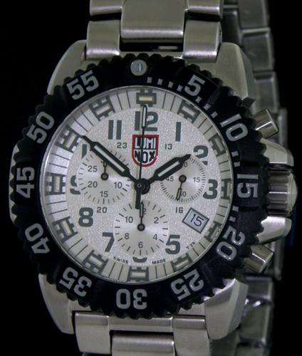 Luminox Us Navy Seal Wrist Watches Silver Speckle Dial