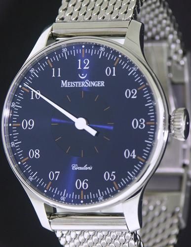 Meistersinger Circularis Wrist Watches Blue Dial