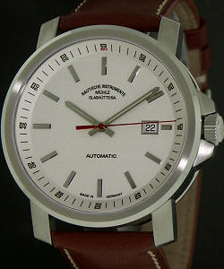 Muhle glashutte 29er wrist watches 29er big white dial m1 25 31lb for Muhle watches
