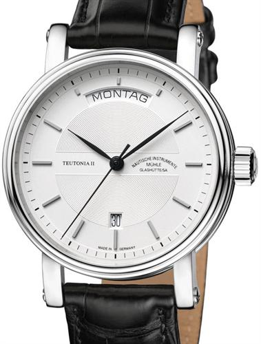 Muhle glashutte teutonia wrist watches teutonia ii day date m1 33 65lb for Muhle watches