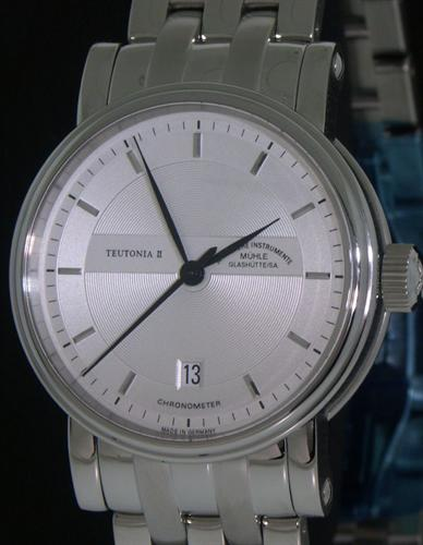 Muhle glashutte teutonia wrist watches teutonia ii automatic m1 30 45mb for Muhle watches