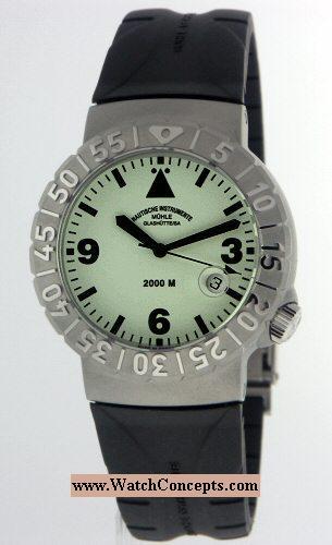 Muhle Glashutte Search And Rescue wrist watches: Nautic Timer Luminova