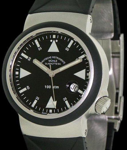 Muhle glashutte search and rescue wrist watches search and rescue s a r m1 41 03 kb for Muhle watches