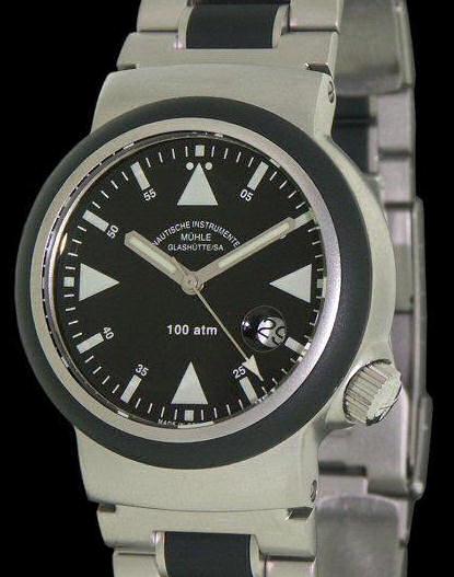 Muhle glashutte search and rescue wrist watches search and rescue s a r m1 41 03mb for Muhle watches