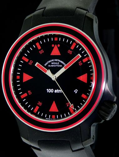 Muhle glashutte search and rescue wrist watches black sar anniversary timer m1 41 53kb for Muhle watches