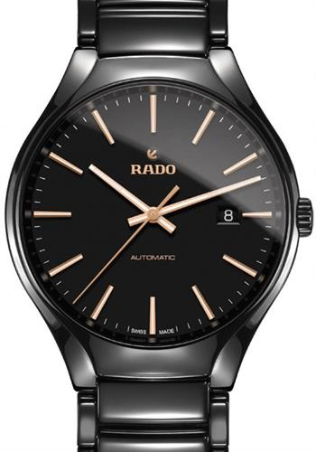 rado rado true wrist watches true automatic black