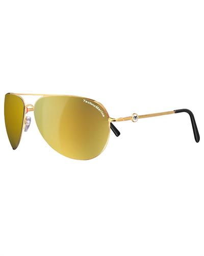 technomarine sunglasses cruise steel collection yellow