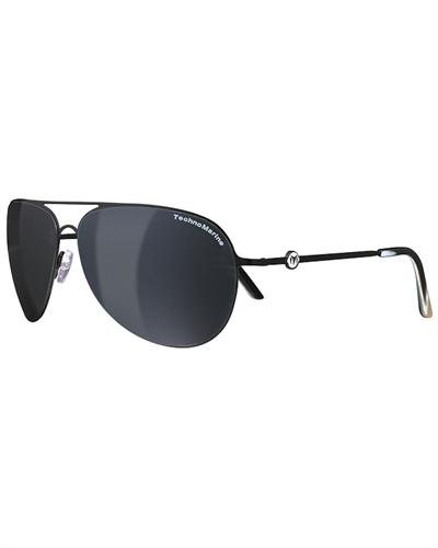 technomarine sunglasses cruise steel collection black ecs15