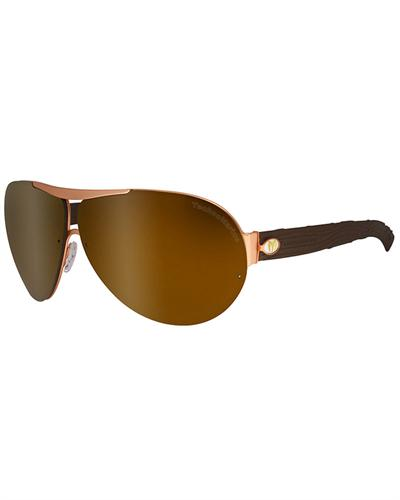 technomarine sunglasses pilot daytona i i brown gold epd03