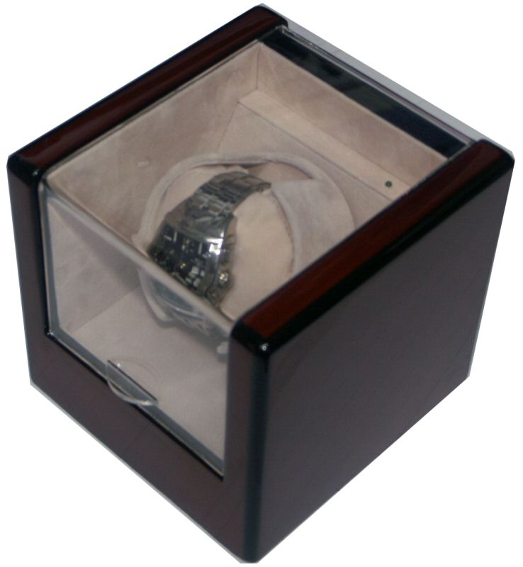Watch Winders Belair Watchwinder: Redwood Ac/Dc Winder awb